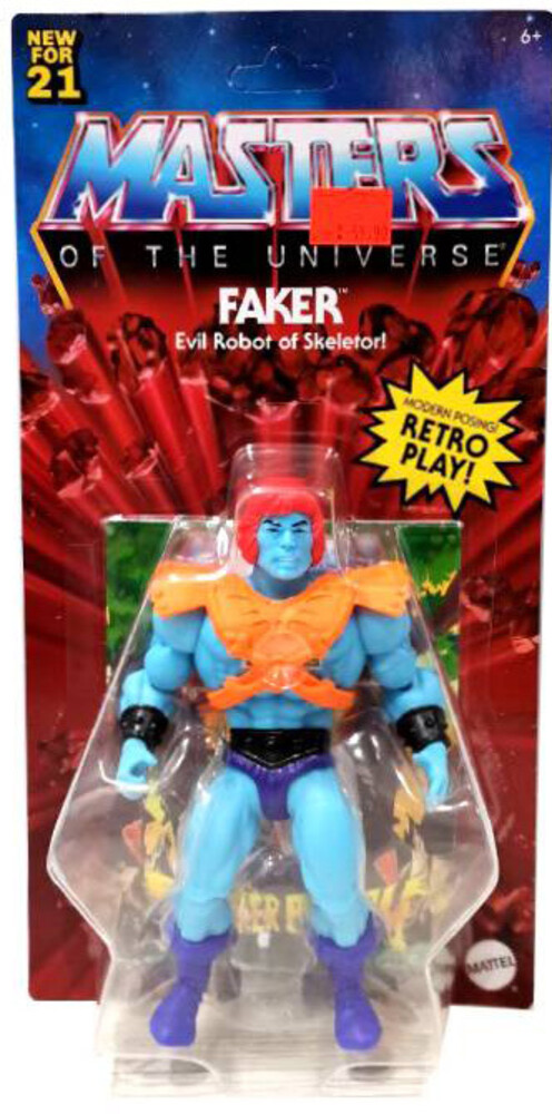 Masters Of The Universe - Mattel Collectible - Masters of the Universe Origins Faker (He-Man, MOTU)