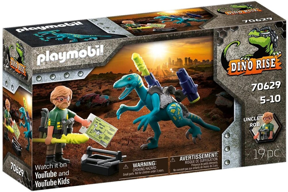 - Dinos Deinonychus Ready For Battle (Fig)