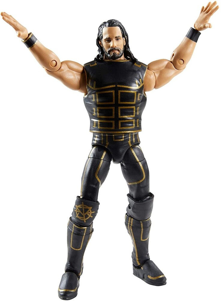 - Wwe Elite Collection Fan Takeover Seth Rollins