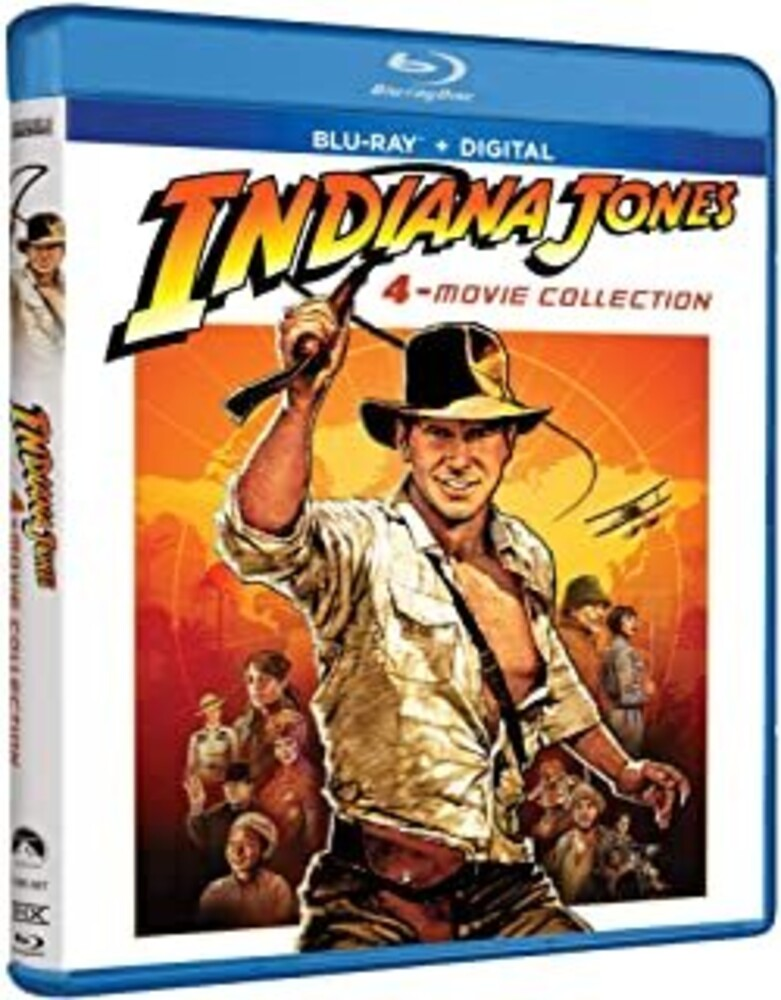 - Indiana Jones 4-Movie Collection (5pc) / (Box Ac3)