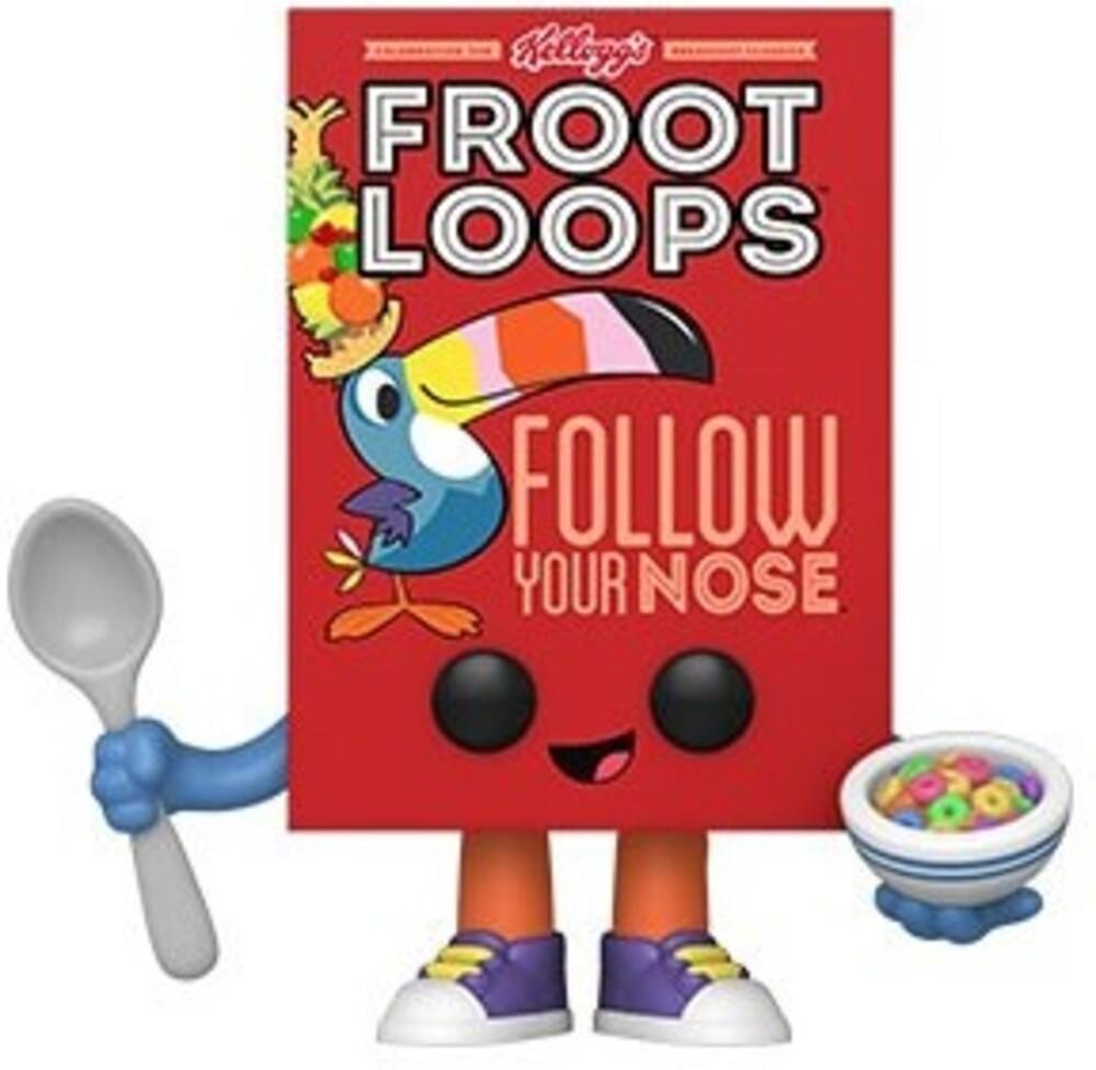 Funko Pop! Vinyl: - FUNKO POP! VINYL: Kelloggs- Froot Loops Cereal Box