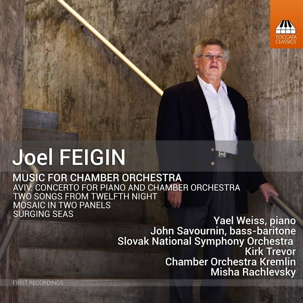 Feigin / Trevor / Rachlevsky - Music For Chamber Orchestra