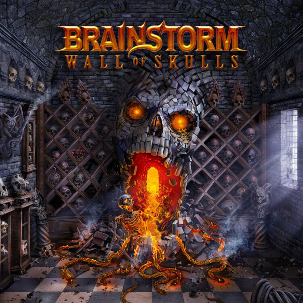 Brainstorm - Wall Of Skulls (Cd+Blu-Ray Boxset) (Box) (Wbr)