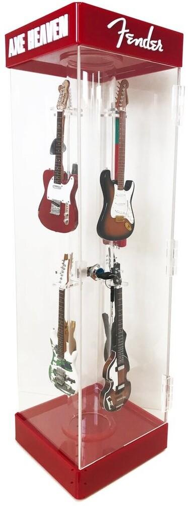 Axe Heaven Mini Guitar Collectible Display Case - Axe Heaven Mini Guitar Collectible Display Case