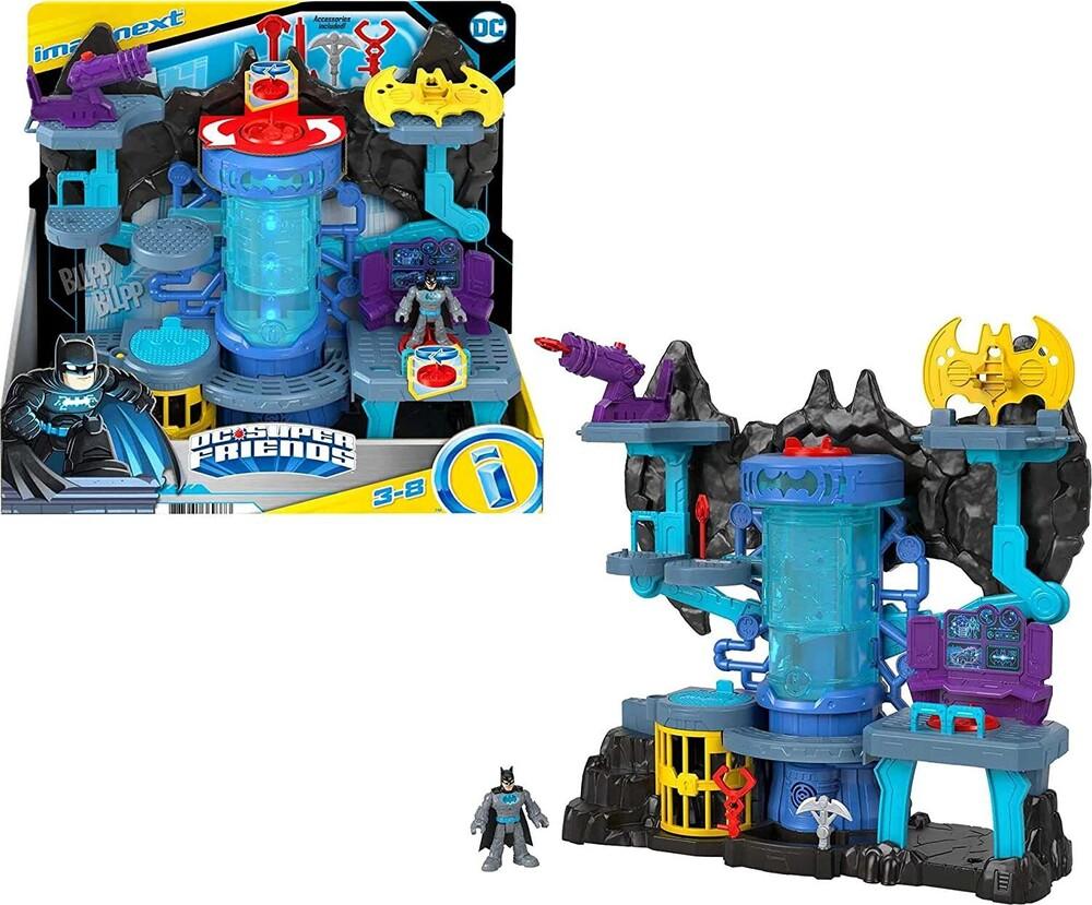 Imaginxt Dc - Imaginext Dc Super Friends Batcave (Fig)