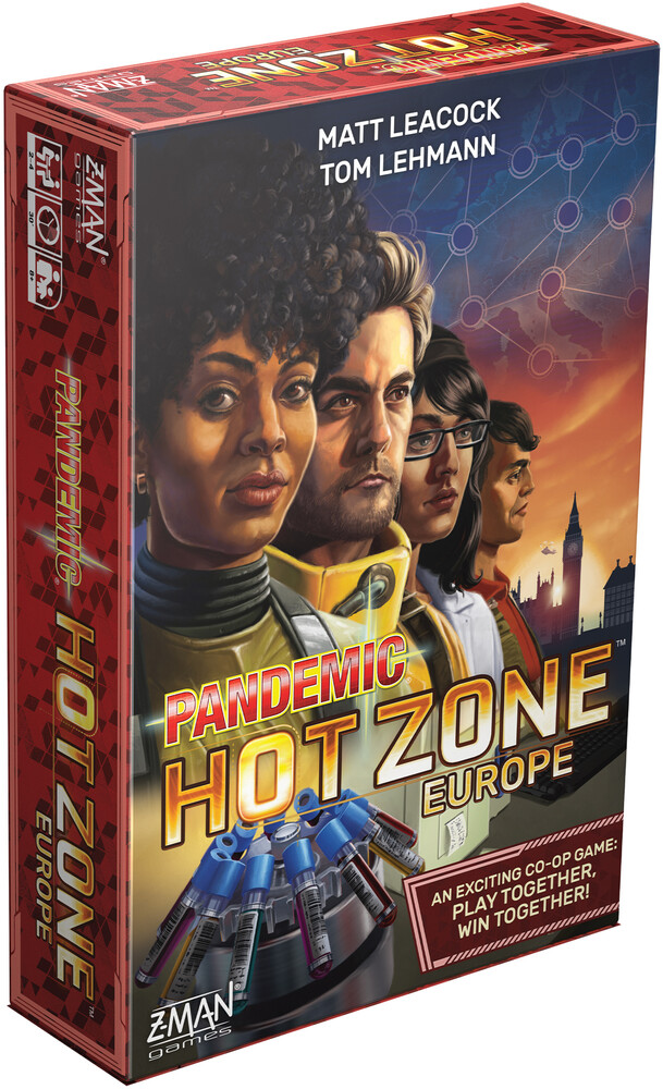 Pandemic Hot Zone Europe - Pandemic Hot Zone Europe (Wbdg)