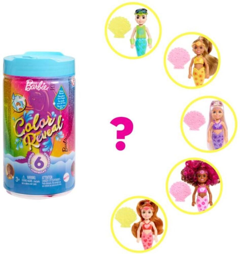 Barbie - Barbie Chelsea Color Reveal Mermaid (Papd)