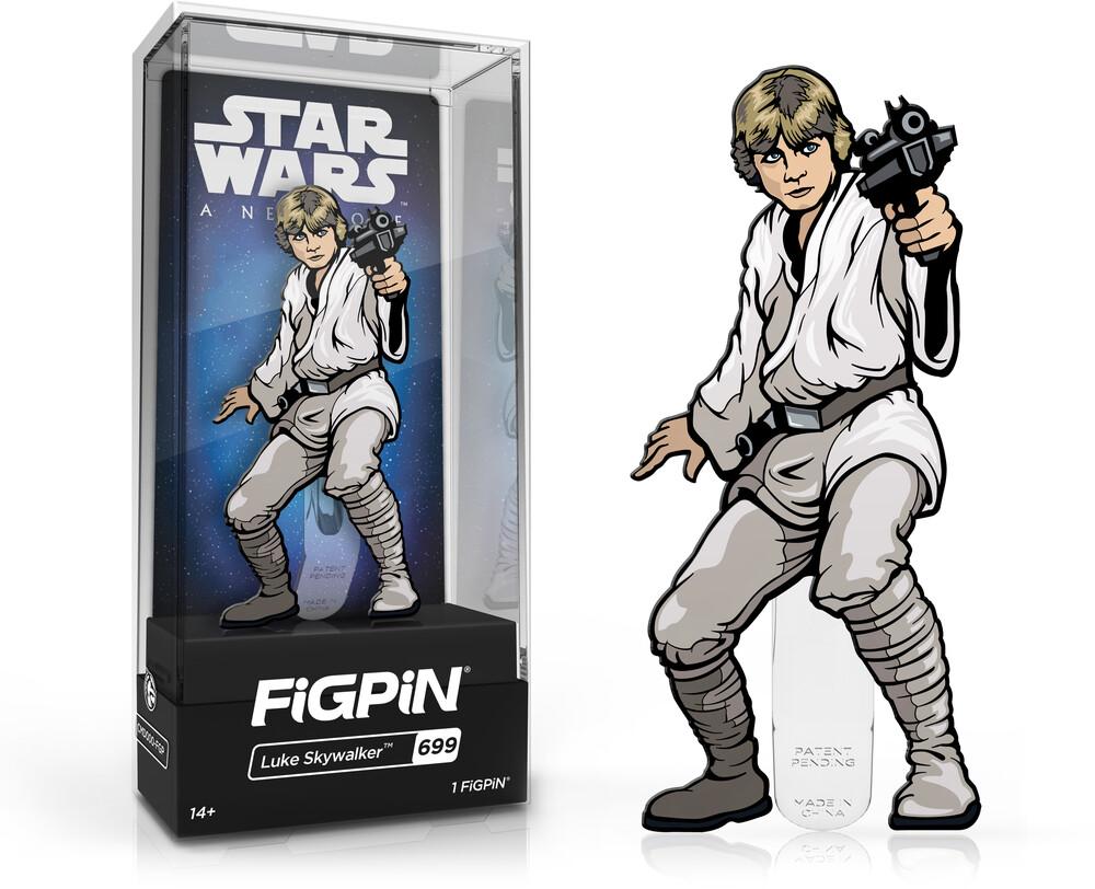 Figpin Star Wars a New Hope Luke Skywalker #699 - Figpin Star Wars A New Hope Luke Skywalker #699