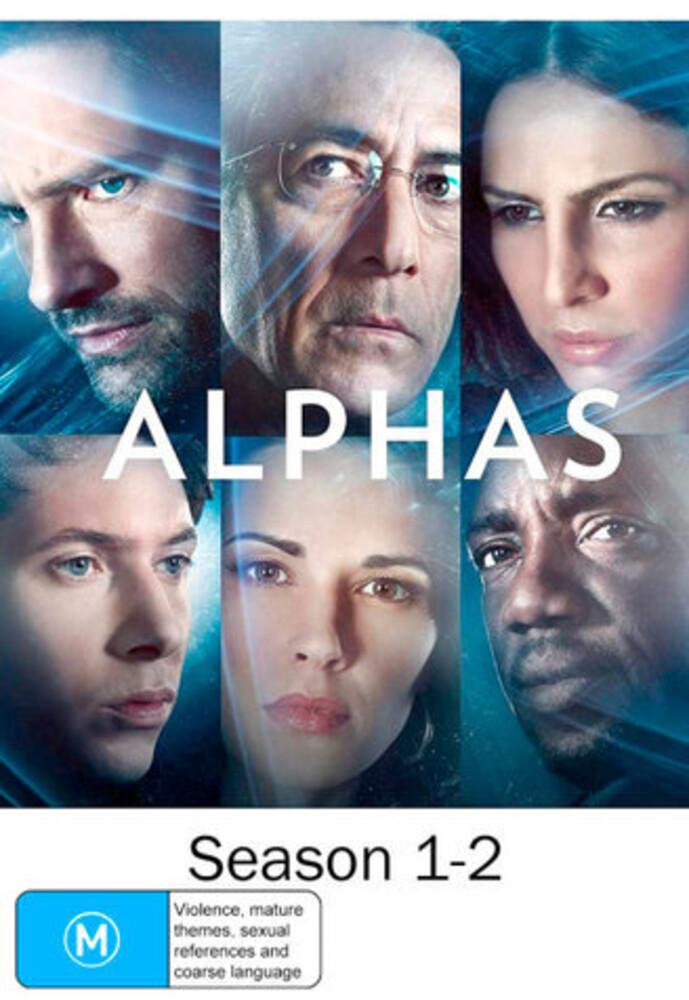 Alphas: Seasons 1-2 - Alphas: Seasons 1-2 (6pc) / (Aus Ntr0)