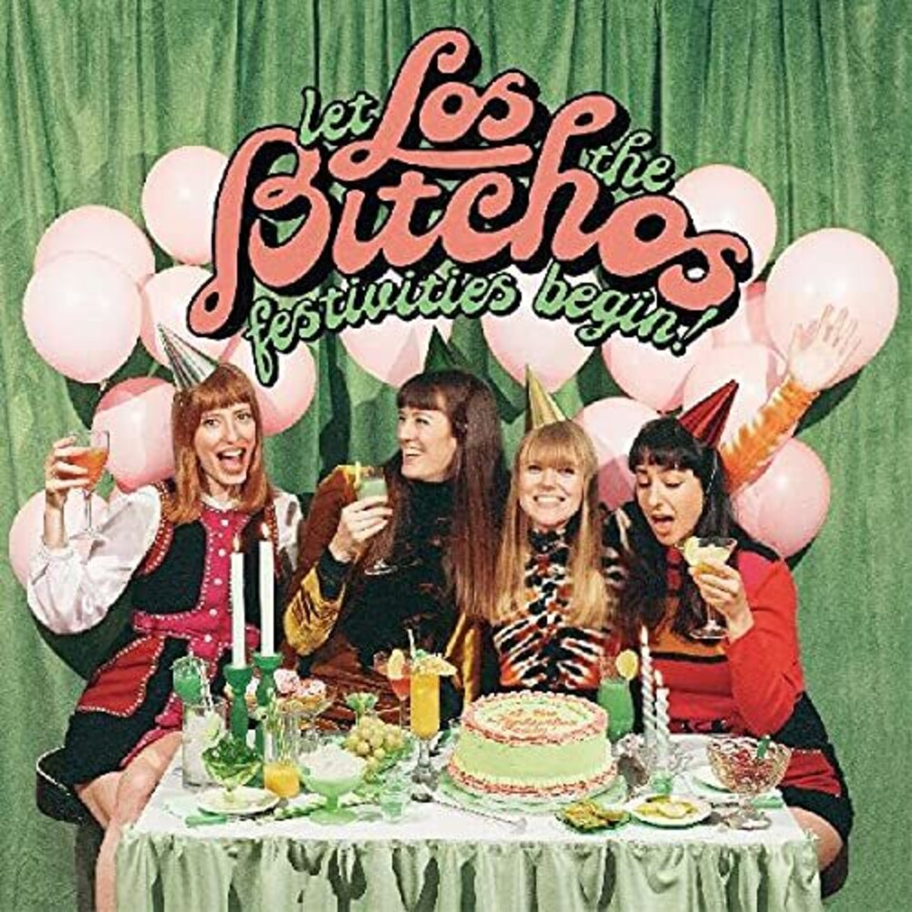 Los Bitchos - Let The Festivities Begin! [Colored Vinyl] [Limited Edition] (Ofgv)