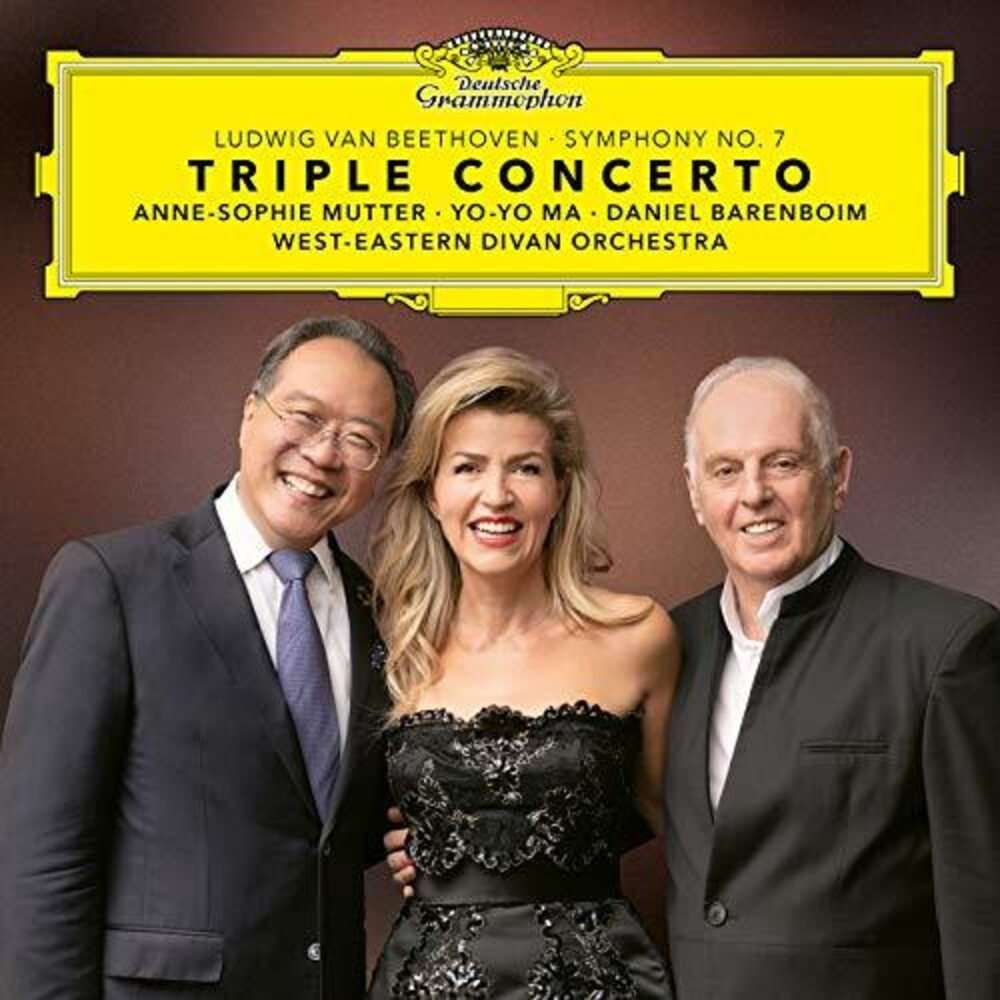 Beethoven / Mutter / Ma / Barenboim - Triple Concerto / Symphony No 7 [Digipak]