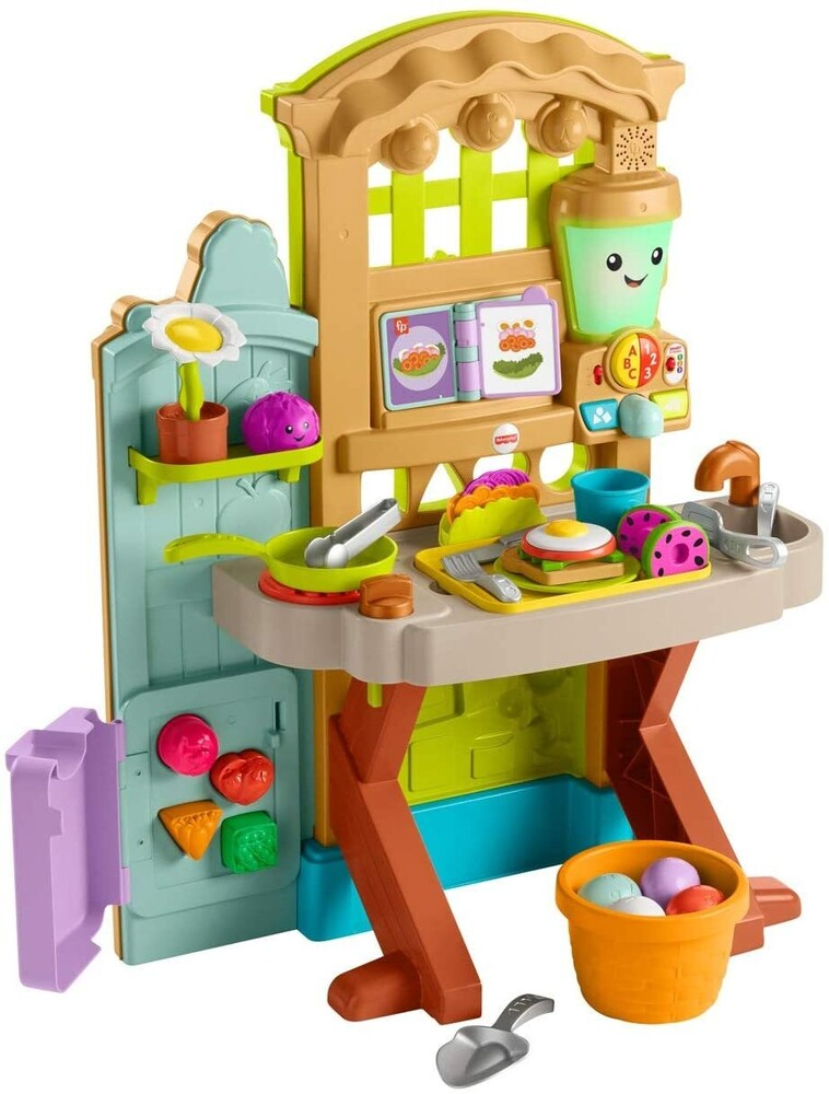 Laugh & Learn - Fisher Price - Laugh N Learn Pick 'N Prep Garden