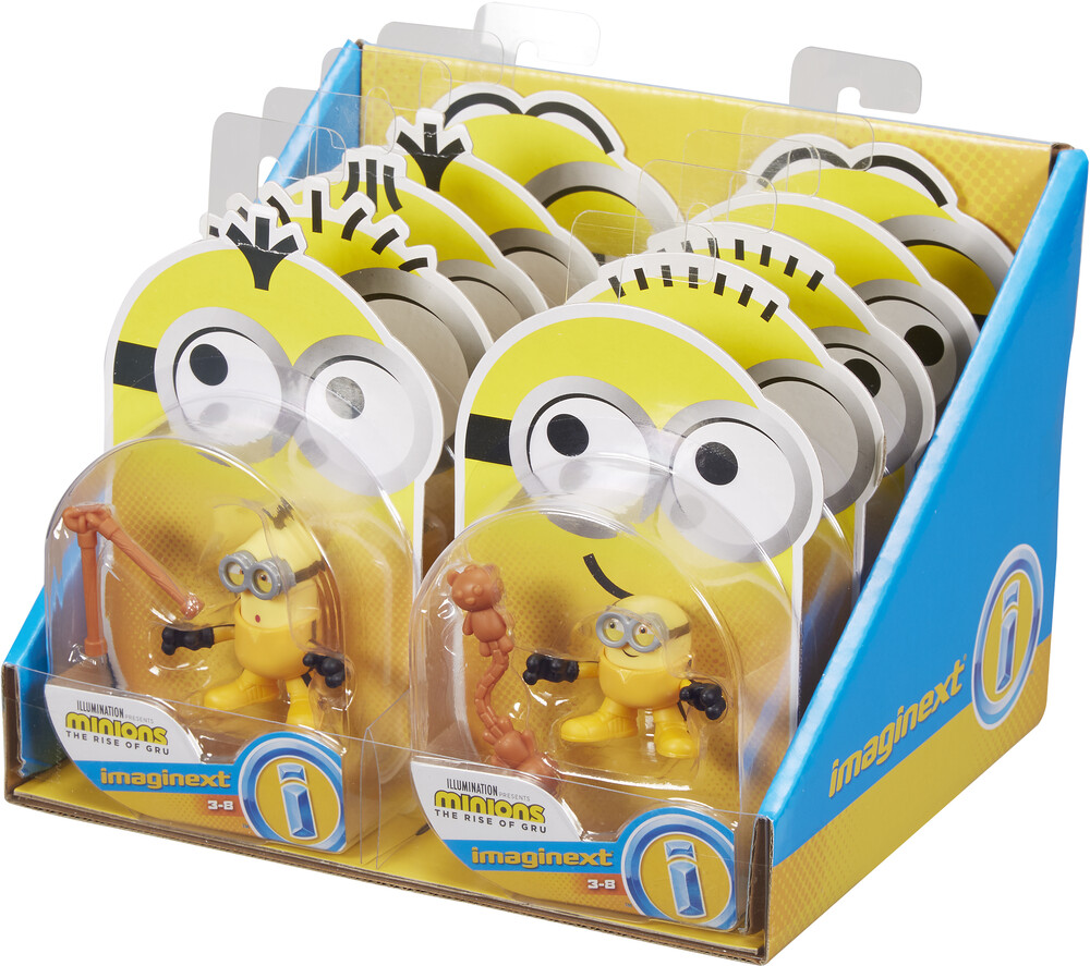 Imaginex Minions - Fisher Price - Imaginext Minions Collectible Figure Assortment (DreamWorks)