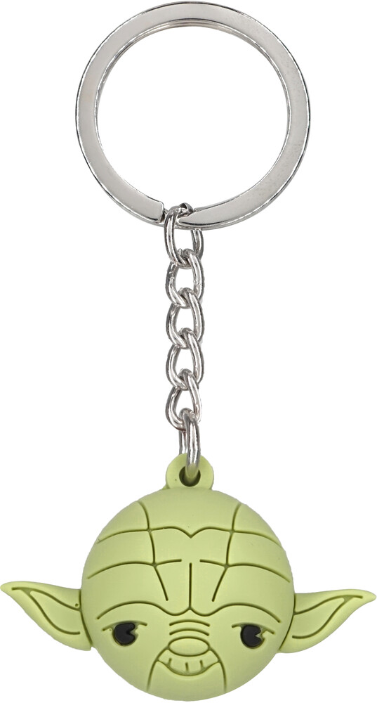 Star Wars - Yoda Icon Ball Key Ring - Star Wars - Yoda Icon Ball Key Ring