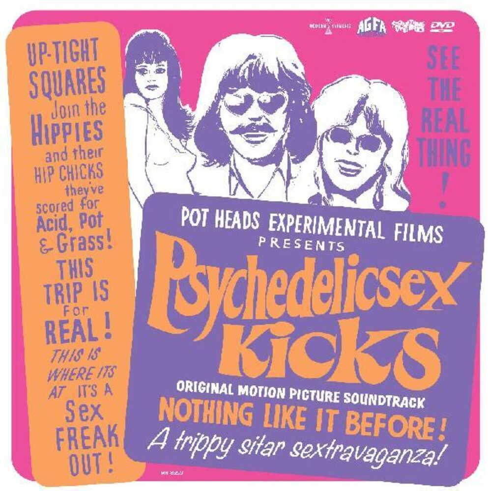 Various Artists - Psychedelic Sex Kicks (Original Soundtrack) [Limited Edition LP+DVD]