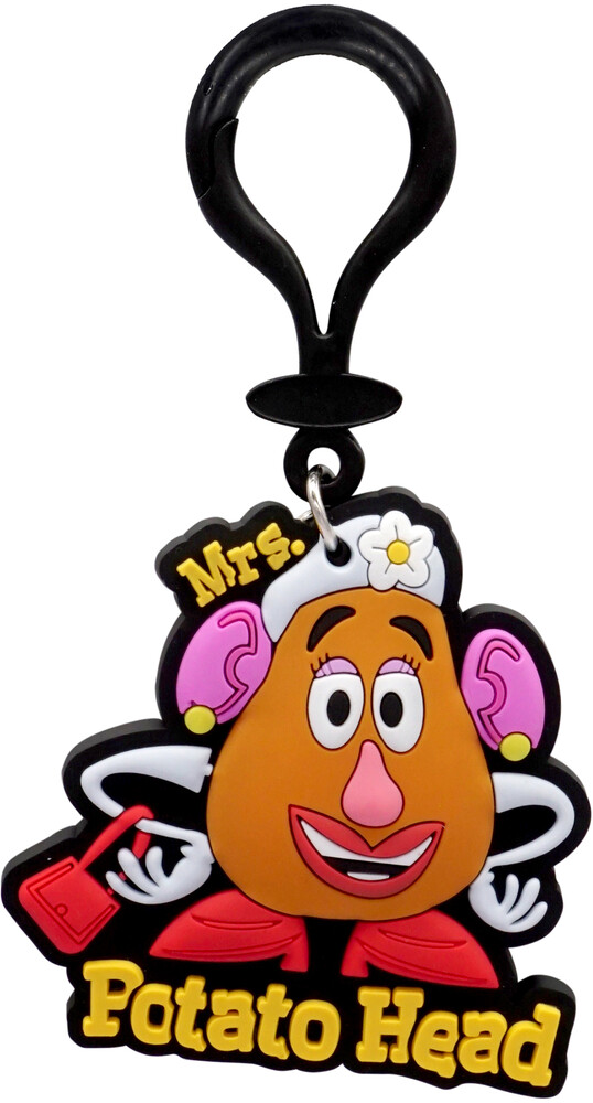 Toy Story Mrs. Potato Soft Touch Bag Clip - Toy Story Mrs. Potato Soft Touch Bag Clip