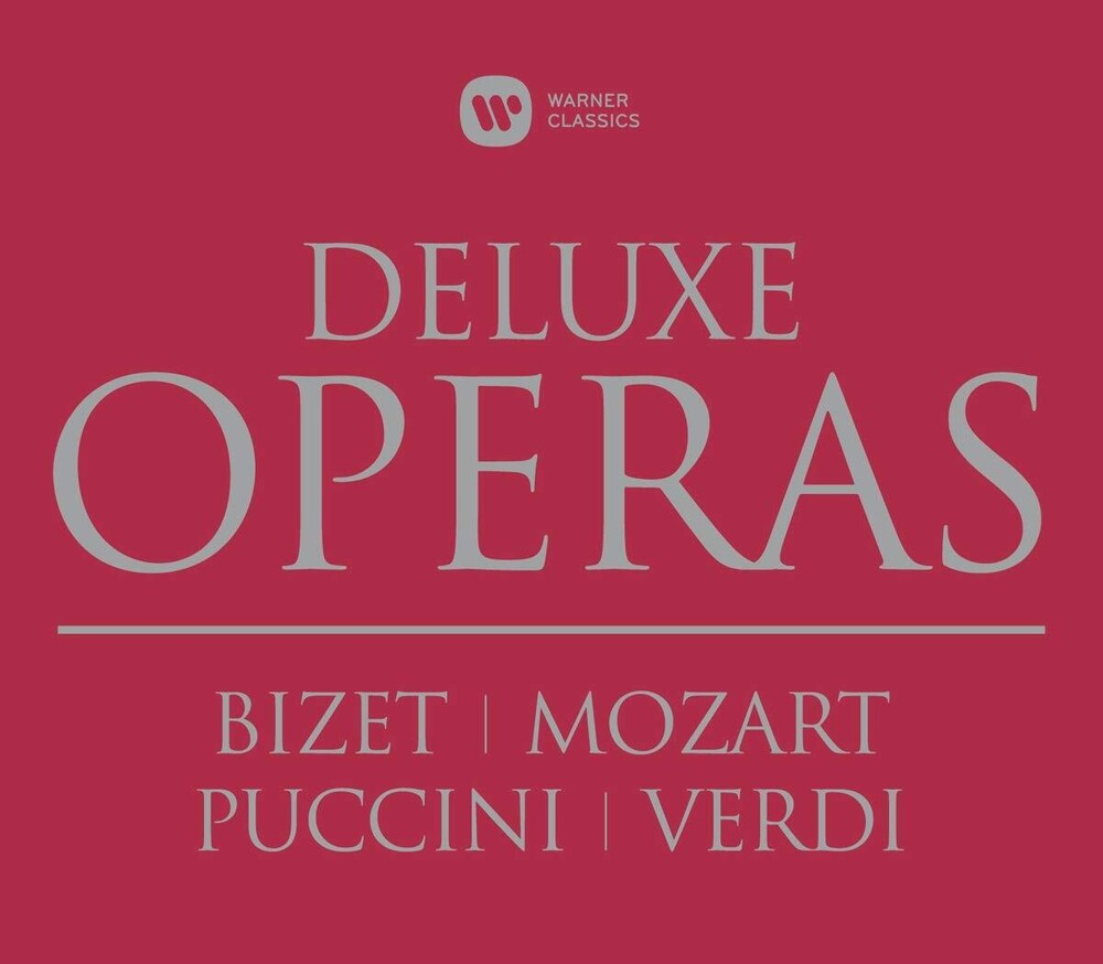 Opera Deluxe Box Carmen Die Zauberflote - Opera Deluxe Box: Carmen Die Zauberflote