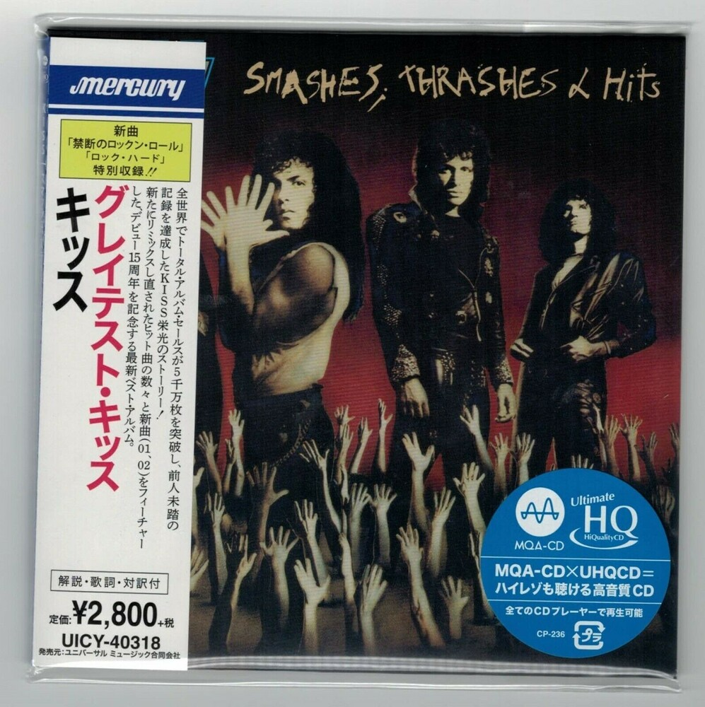 Kiss - Smashes Thrashes & Hits (Jmlp) [Limited Edition] (Hqcd) (Jpn)