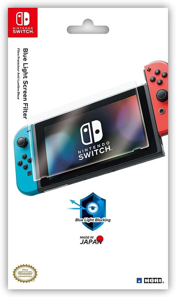 Hori Blue Light Screen Filter Swi - Blue Light Screen Filter for Nintendo Switch