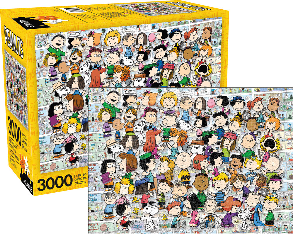 Peanuts Cast 3000 PC Puzzle - Peanuts Cast 3000 Pc Puzzle