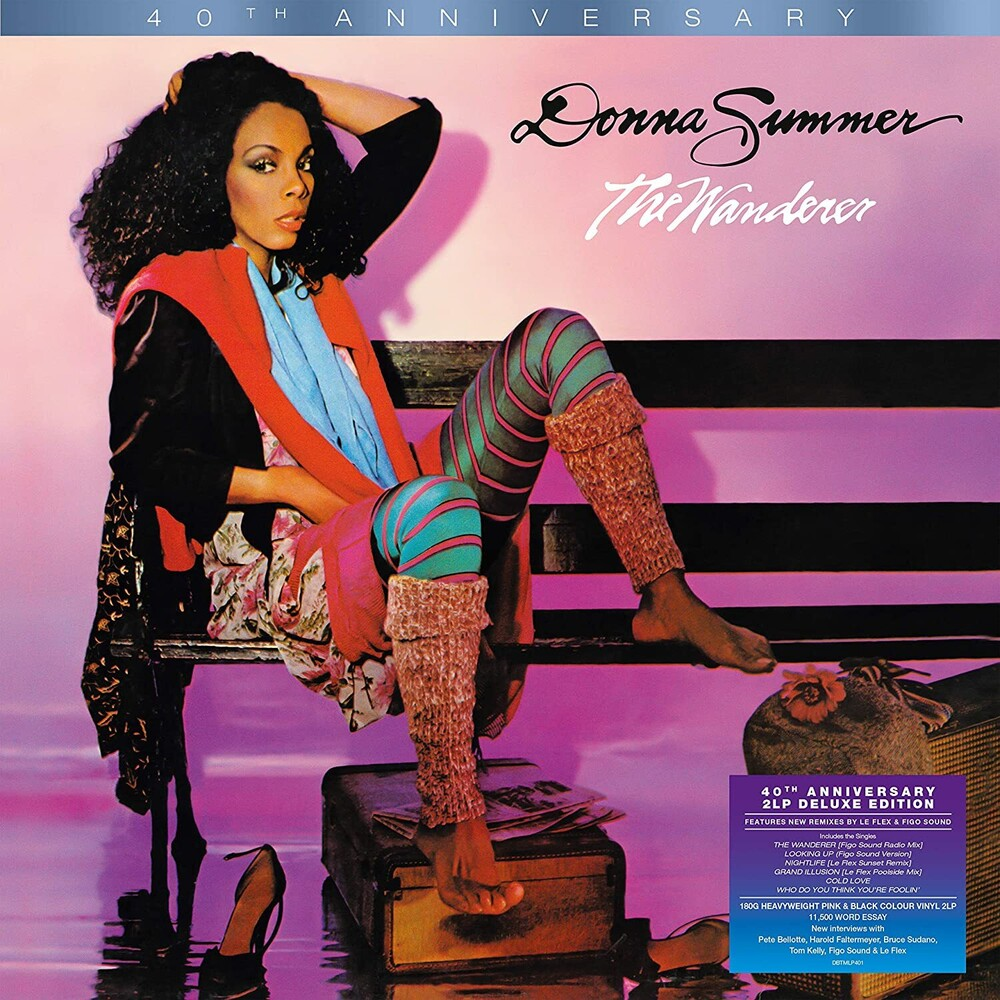 Donna Summer - Wanderer: 40th Anniversary [180-Gram Pink & Black Colored Vinyl]