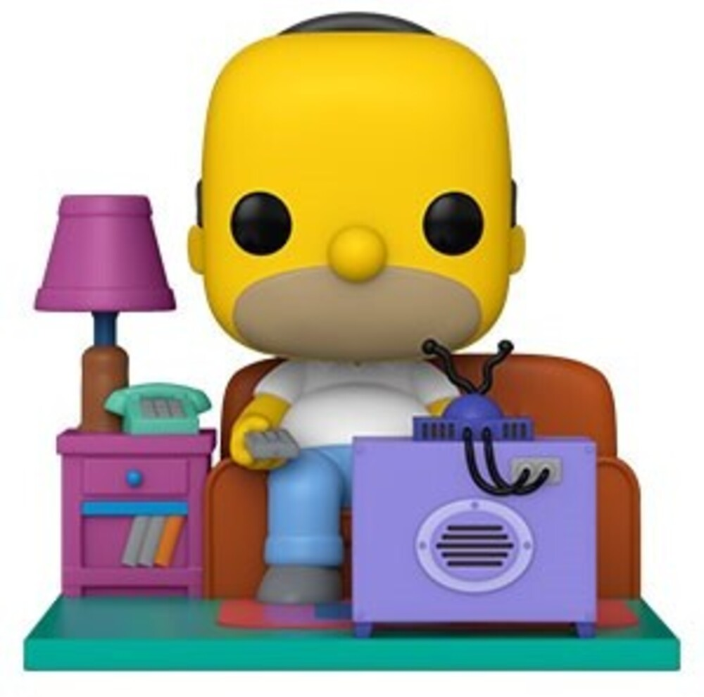Funko Pop! Deluxe: - FUNKO POP! DELUXE: Simpsons- Homer Watching TV