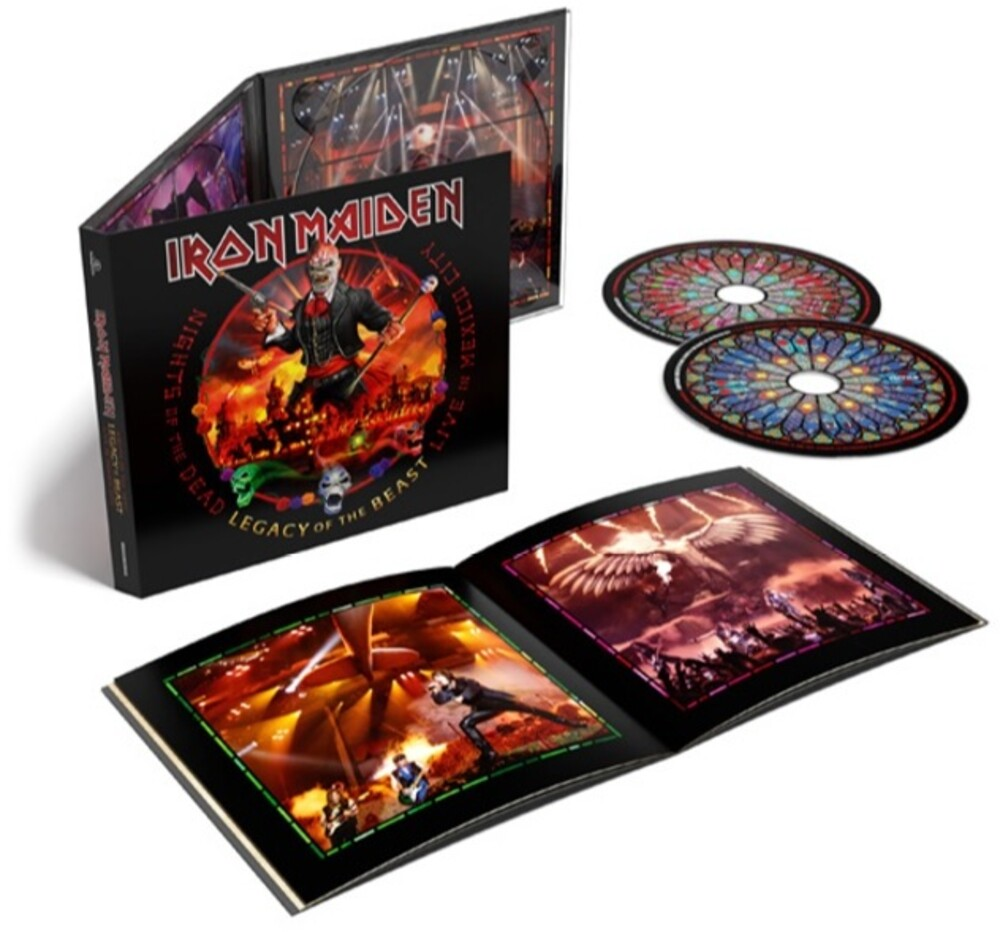 Iron Maiden - Nights Of The Dead, Legacy Of The Beast: Live In Mexico City [2CD]