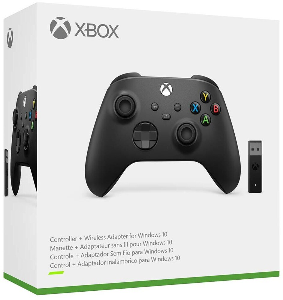 Xbx Wireless Controller + Wireless Adapter - Microsoft Xbox Wireless Controller + Wireless Adapter for Windows 10 for Xbox Series X and Xbox One