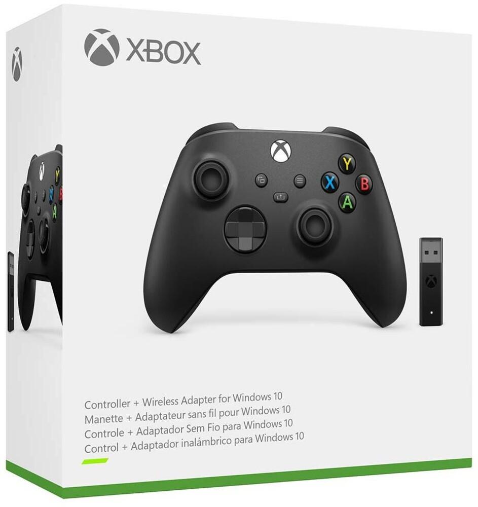 Xbx Wireless Controller + Wireless Adapter - Microsoft Xbox Wireless Controller + Wireless Adapter for Windows 10 for Xbox Series X and Xbox One