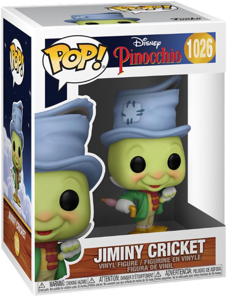 - FUNKO POP! DISNEY: Pinocchio- Street Jiminy