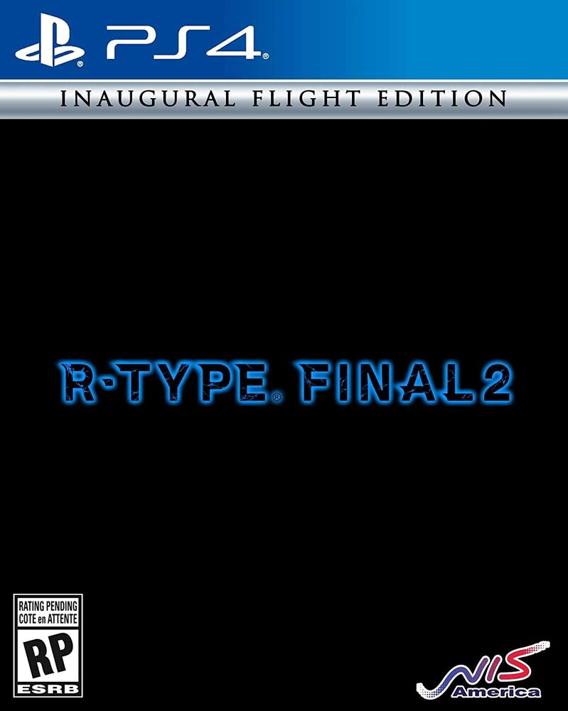 Ps4 R-Type Final 2 Inaugural Flight Edition - R-type Final 2 Inaugural Flight Edition for PlayStation 4