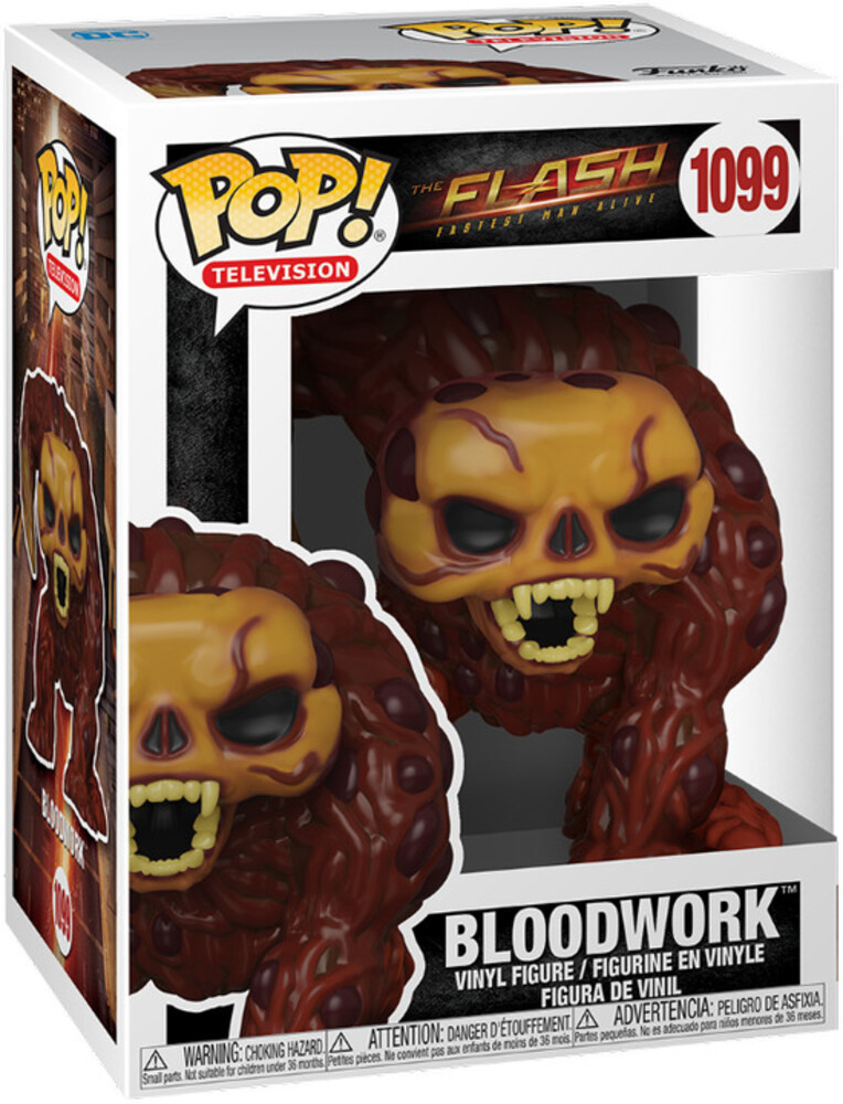 Funko Pop! Heroes: - FUNKO POP! HEROES: The Flash- Bloodwork