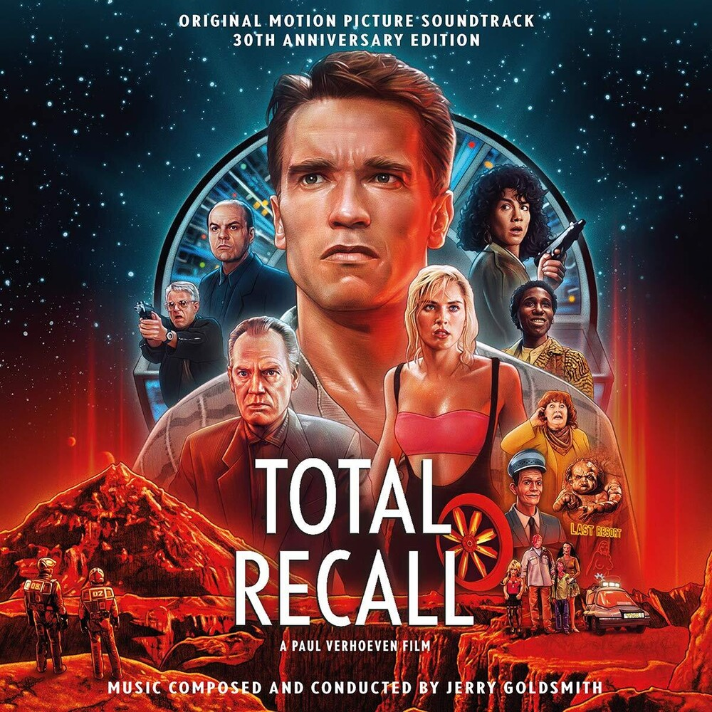 Jerry Goldsmith Ita - Total Recall: 30th Anniversary / O.S.T. (Ita)