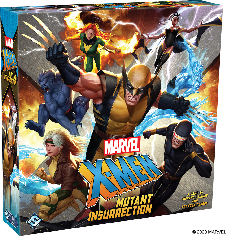 - Marvel X-Men Mutant Insurrection