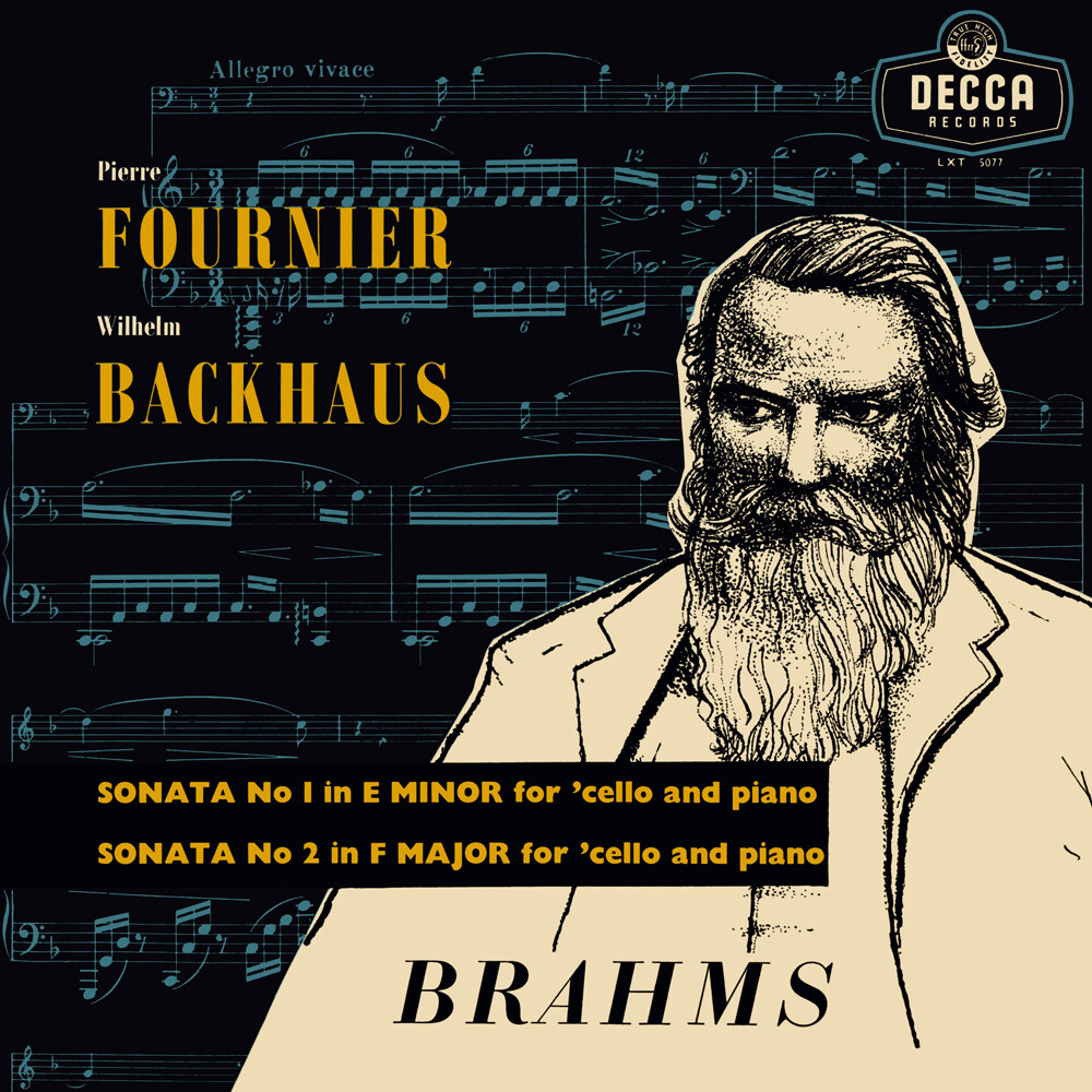 Pierre Fournier  / Backaus,Wilhelm - Brahms Sonatas For Cello & Piano [180 Gram]