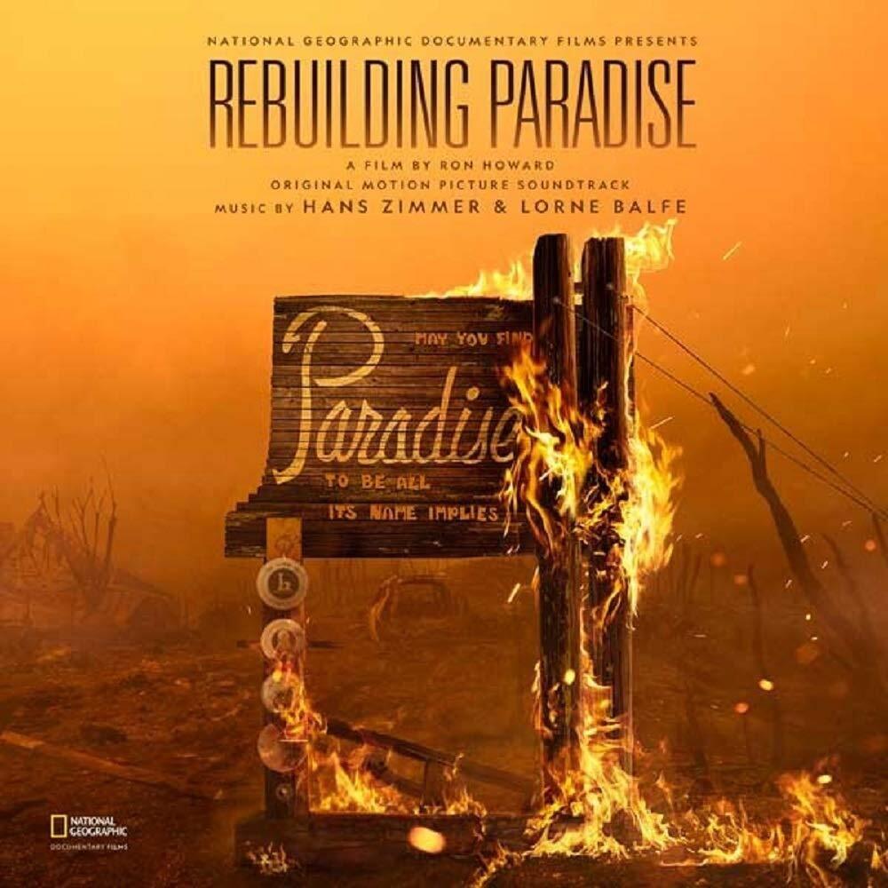 Rebulding Paradise / O.S.T. (Jpn) - Rebulding Paradise (Japanese Pressing) (Original Motion Picture Soundtrack)