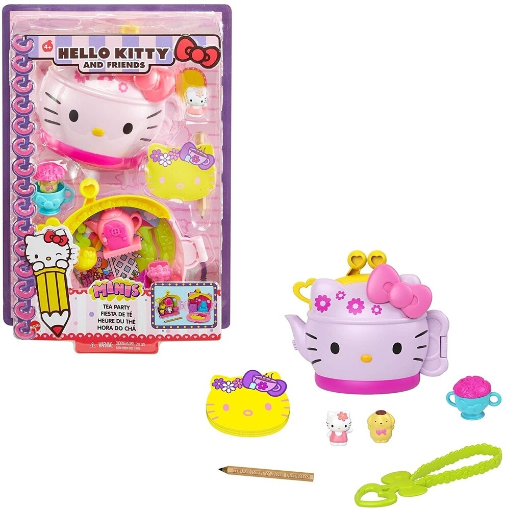 - Mattel - Hello Kitty and Friends Tea Party Compact (Sanrio)