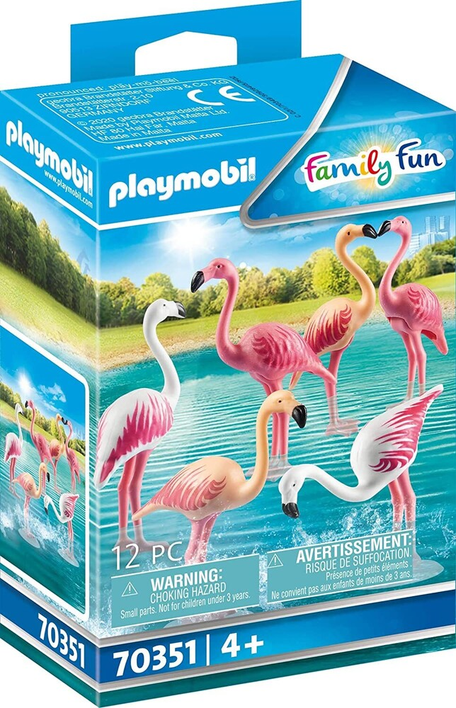 - Family Fun Flock Of Flamingos (Fig)