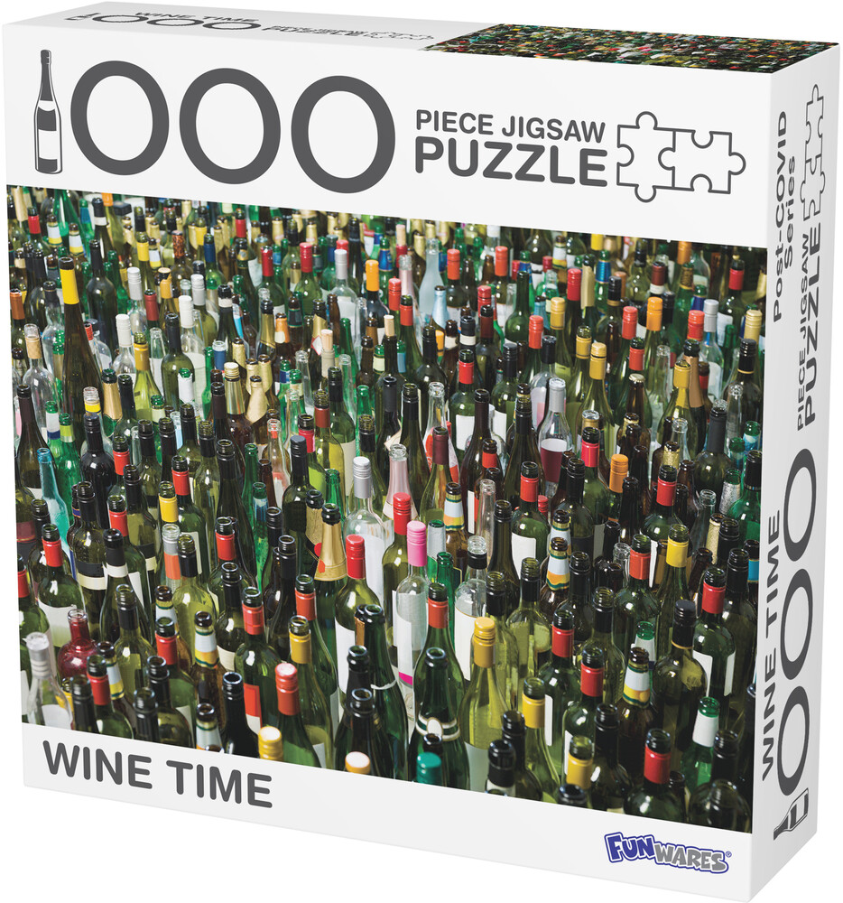 - Funwares Wine Time Puzzle (Puzz)