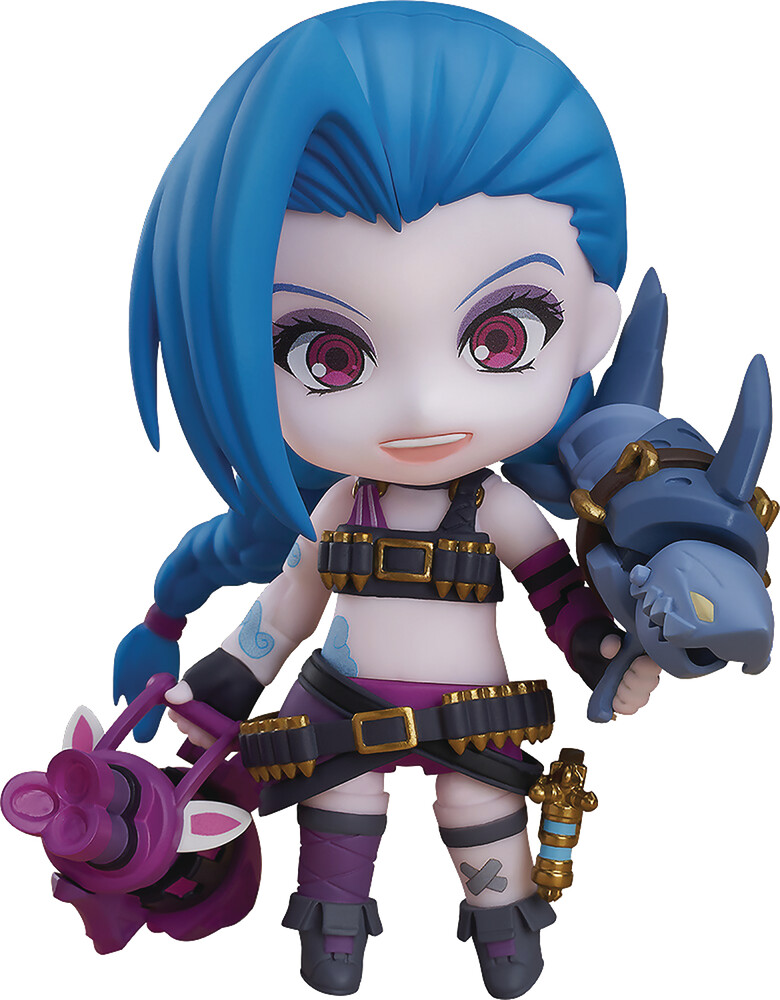 - League Of Legends Jinx Nendoroid Af (Afig) (Clcb)
