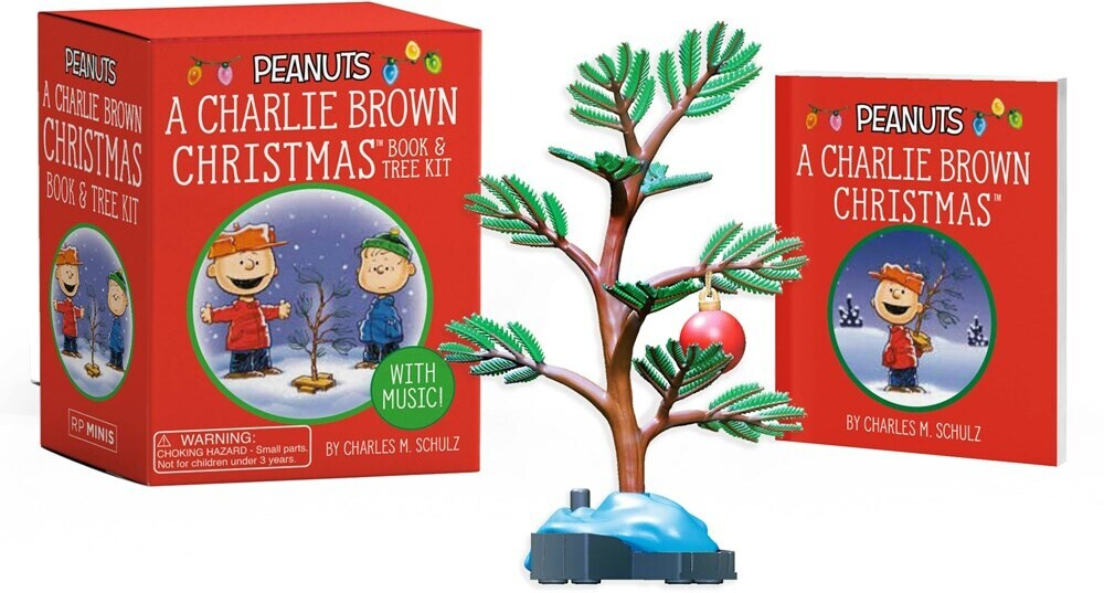 Charles Schulz  M - Charlie Brown Christmas Book And Tree Kit (Gift)