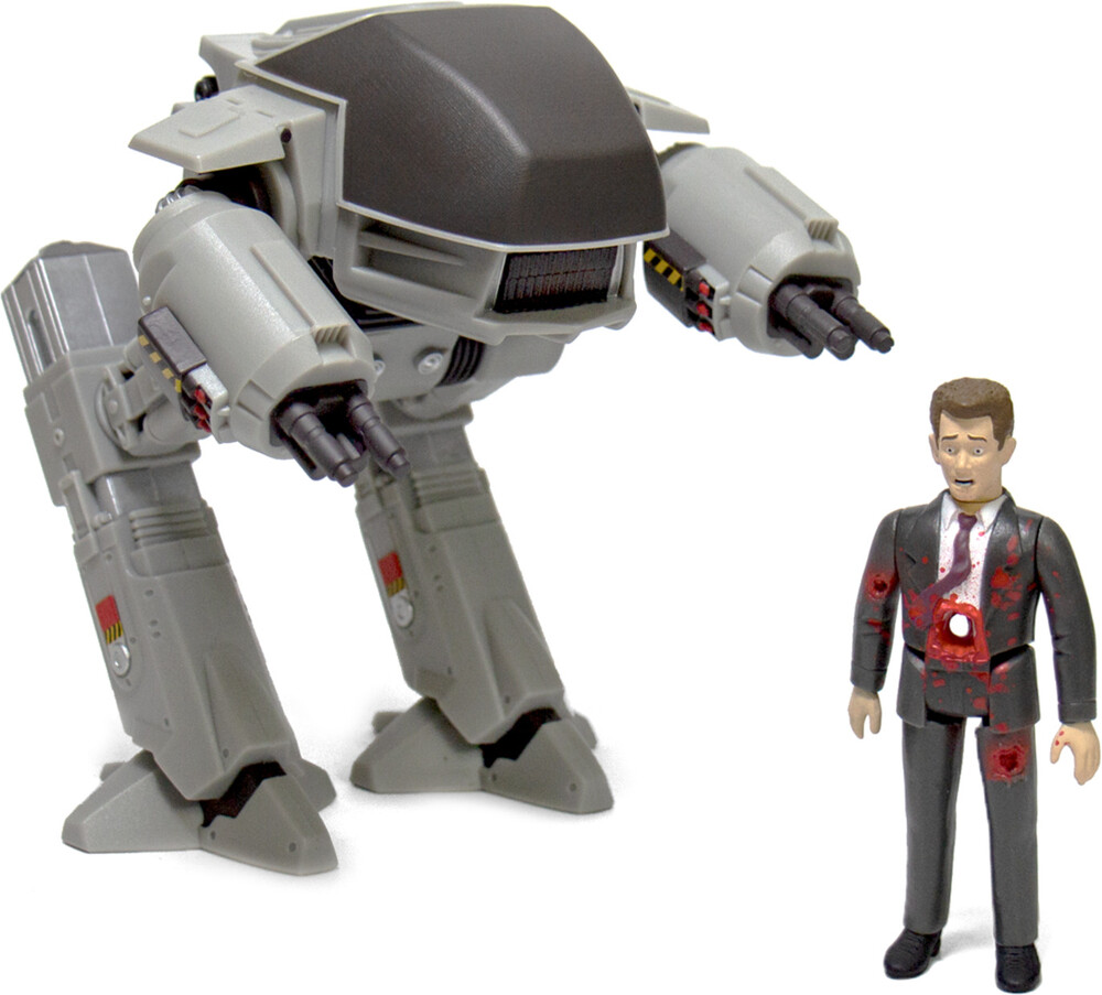 - Robocop Reaction - 2-Pack (Ed-209 And Mr. Kinney)