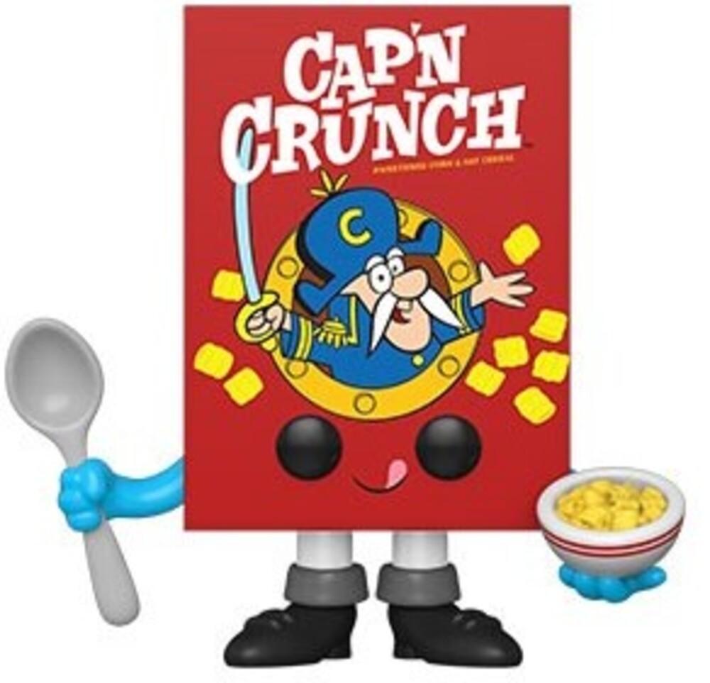 Funko Pop! Vinyl: - FUNKO POP! VINYL: Quaker- Cap'N Crunch Cereal Box