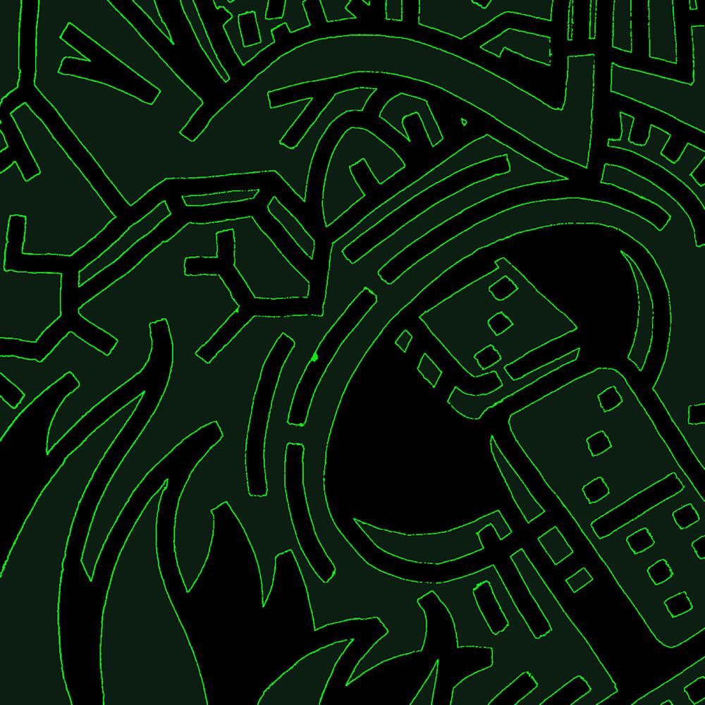 Don Zilla - Ekizikiza Mubwengula (Black & Green Splatter)