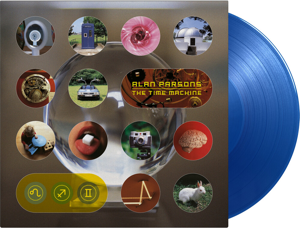 Alan Parsons - Time Machine (Blue) [Colored Vinyl] (Gate) [Limited Edition] [180 Gram]