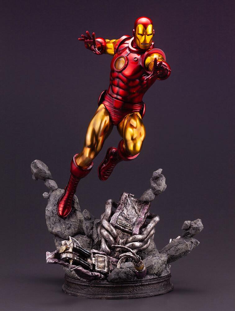 - Marvel Universe Iron Man Avengers Fine Art Statue