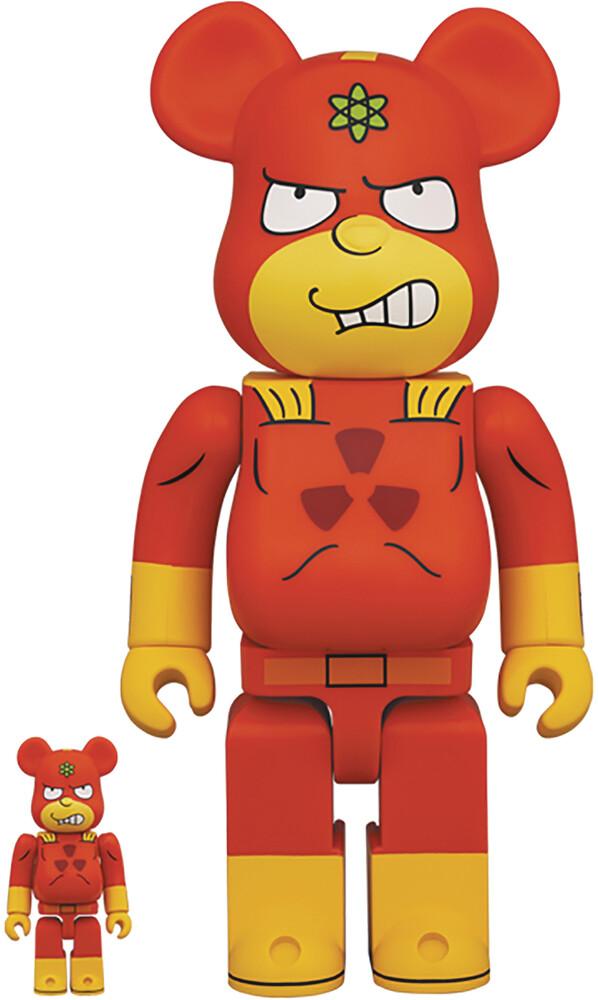 - Simpsons Radioactive Man 100% & 400% Bea 2pk (Fig)
