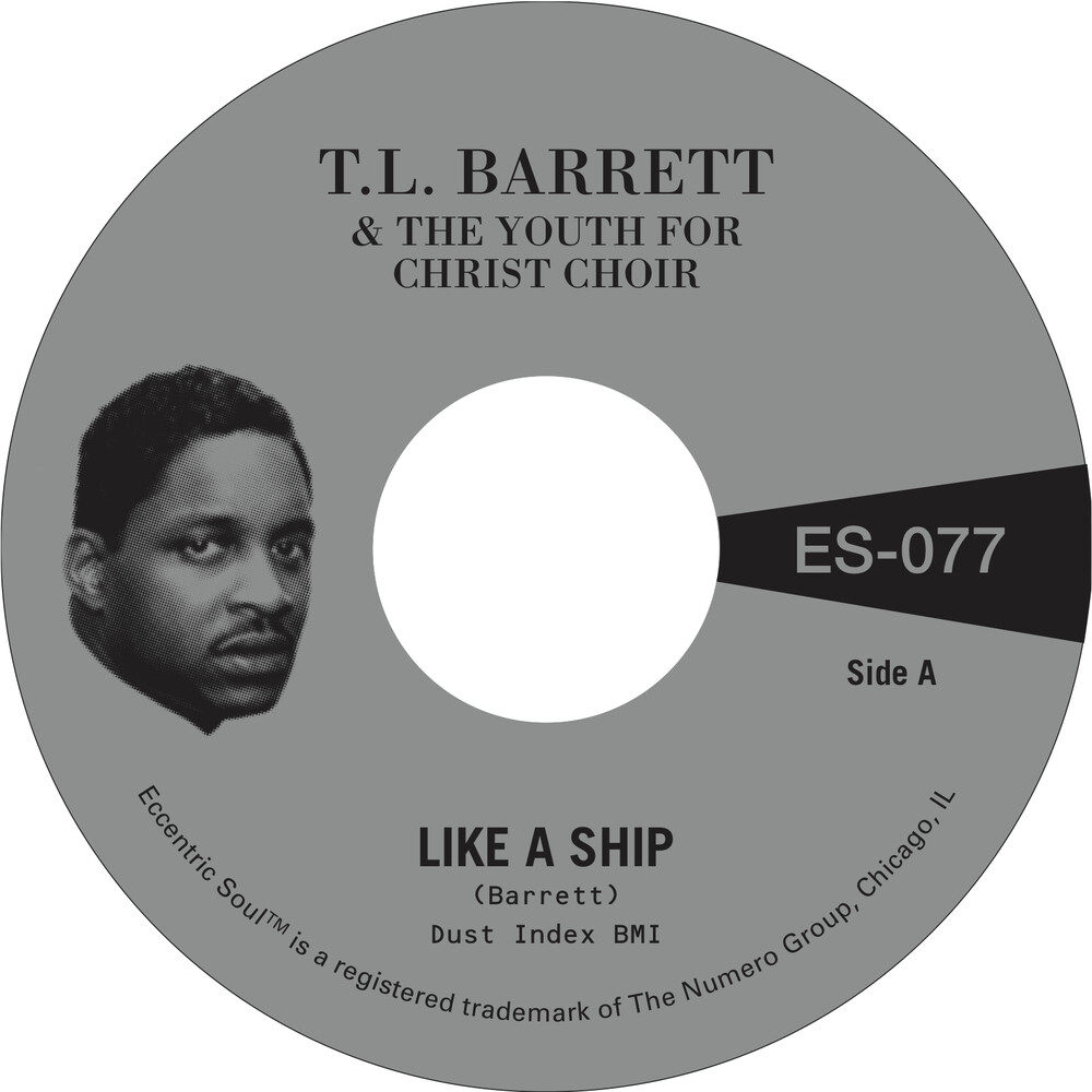 Pastor Barrett  T.L. / Youth For Christ Choir - Like A Ship B/W Nobody Knows [Indie Exclusive] [Colored Vinyl] (Gol)