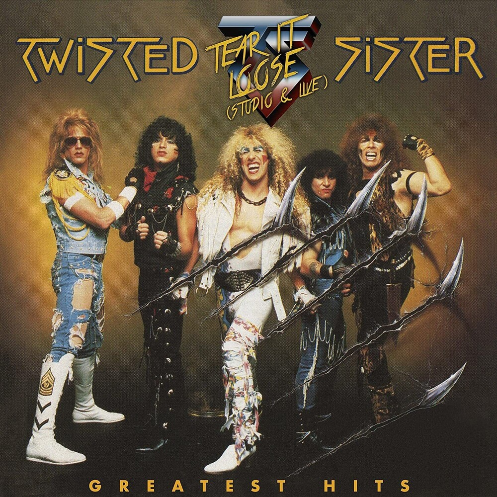 Twisted Sister - Greatest Hits -Tear It Loose [Clear Vinyl] (Gol) [Limited Edition]