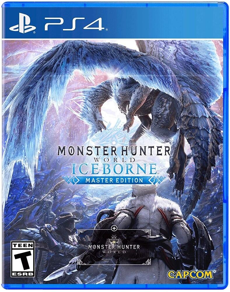 Ps4 Monster Hunter World: Iceborne Master Ed - Monster Hunter World: Iceborne Master Ed